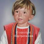 Портрет дете в носия
