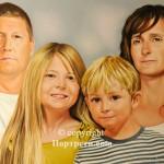 Портрет цяло семейство